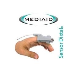 Sensor Clip Adulto Mediaid RJ12