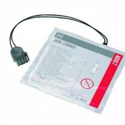 Pás Adesivas (eletrodo) para Desfibrilação – Quik Combo Physio Control