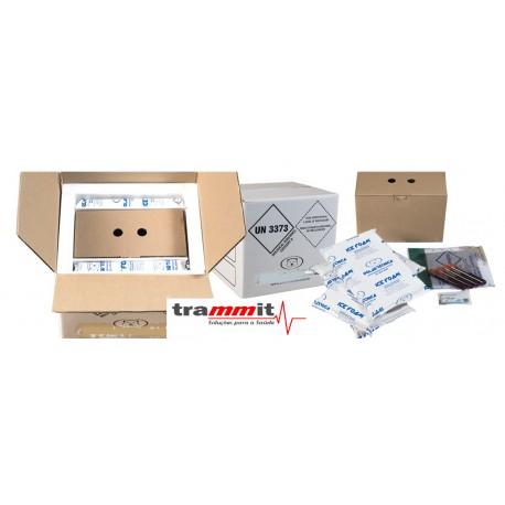 Embalagens para o transporte com necessidades de grandes envios e manter a temperatura controlada por muito mais tempo