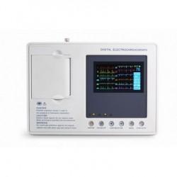 Eletrocardiógrafo de ECG de três canais