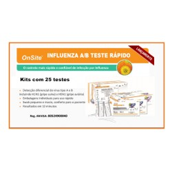 Teste Rapido de Hepatite A (HAV) IgG/IgM 30TT