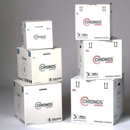 Embalagem homologada para transporte de substâncias biológicas via aérea