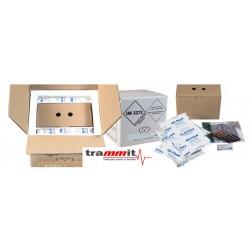 Bolsa e embalagens para transporte de hemoderivados