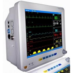 Monitor Multiparamétrico Veterinário de 12 Polegadas com pressão invasiva IBP