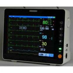 Monitor Multiparamétrico Veterinário de 8 Polegadas