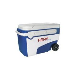 Caixa térmica para transporte de hemoderivados