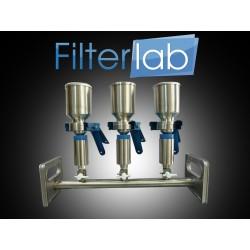 Manifold de filtraçao em aço inox