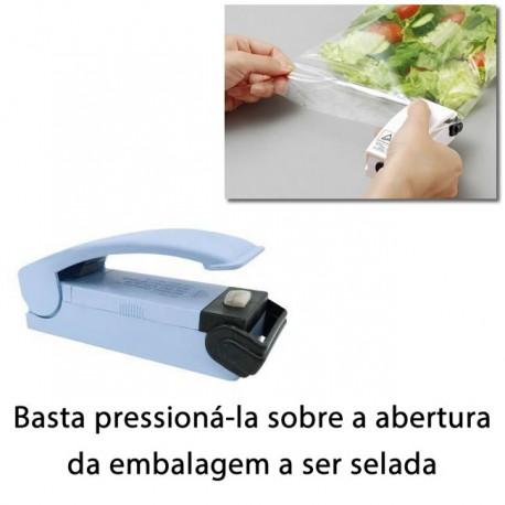 Mini Seladora de Embalagens Plásticas