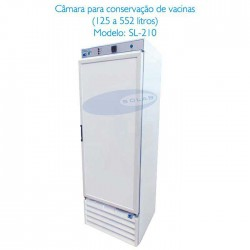 Refrigerador, Geladeira, Câmara de conservação para vacinas