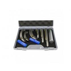 Conjunto de laringoscópio para uso em salas de ressonância magnética