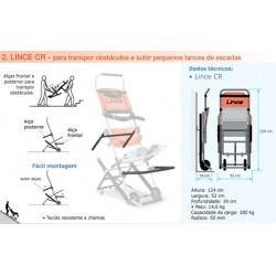 Cadeira para descida de escadas LINCE CR