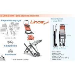 Cadeira para descida de escadas LINCE para ESPAÇOS REDUZIDOS