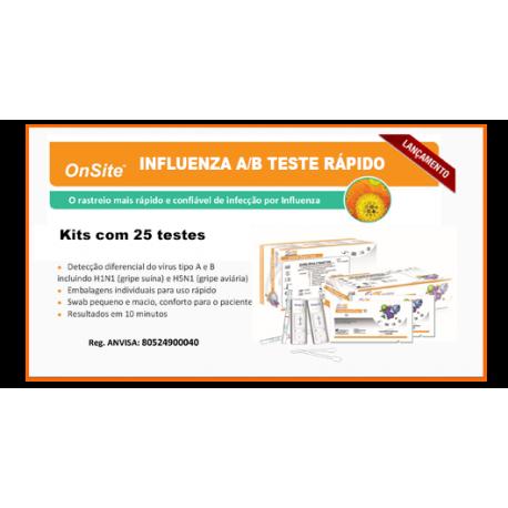 LINHA DE TESTES RÁPIDOS