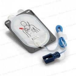 Eletrodos originais de desfibrilação com energia reduzida para crianças/bebês