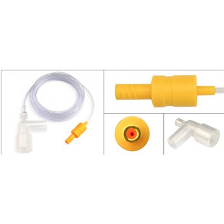 Adaptador Microstream EtCO2 compatível Drager