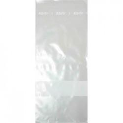 Saco plástico 12x30, para amostras sólidas e líquidas, estéril