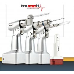 Perfurador para cirurgias de síntese e prótese