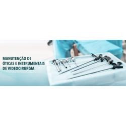 Manutenção corretiva em Óticas rígidas, Nefroscópios, Ureteroscópios, Instrumentais, Endoscópios flexíveis.