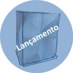 Manta Pallet CAP projetada para ambientes frios e quentes