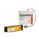 Eletrodos e bateria do seu equipamento Life Pak 1000