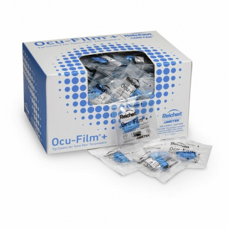 Capas de ponta Ocu-Film para Tonômetros
