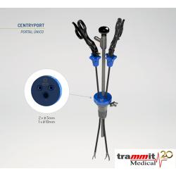Linha de instrumentais para Videocirurgia CentryPort