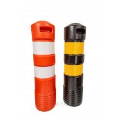 Cilindro Delimitador Tubular para sinalização para divisão de tráfego