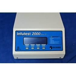 Analisador de dispositivo de infusão de canal duplo DNI Nevada Infutest Série 2000 D